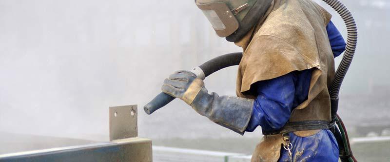 limpieza del material para su utilización en construcciones metálicas