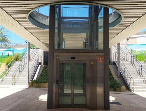 Estructura ascensores CC Ociopia