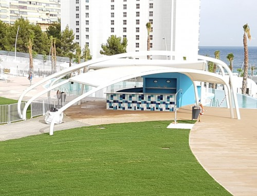 Pérgola Residencial TM Sunset Waves en Benidorm