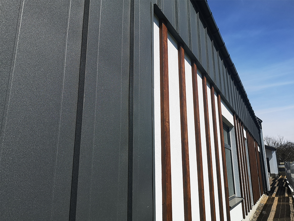 revestimientos de fachadas de metal